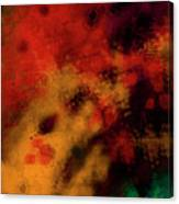 Metal Abstract - Right Canvas Print