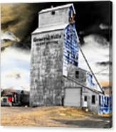 Metal Barn Canvas Print