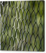 Metal Fence Canvas Print
