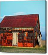 Metal House Canvas Print