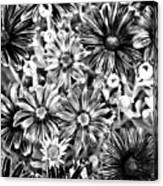 Metal Petals Canvas Print