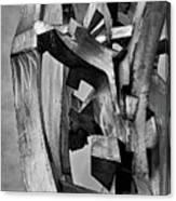 Metal Sculpture Canvas Print