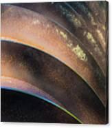 Metal Spiral Right Canvas Print