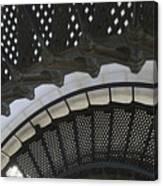 Metal Stair Case Canvas Print