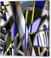 Metallic 3 Canvas Print