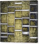 Metallic Amber Canvas Print