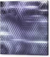 Metallic Cross Pattern  Canvas Print