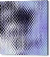 Metallic Weaving Pattern Canvas Print