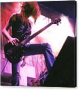 Metallica 1986 Cliff Burton Canvas Print