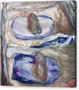 Metate Canvas Print
