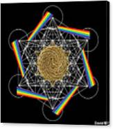 Metatron's Rainbow Healing Vortex Canvas Print