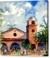 Methodist Church  Gilbert Az Canvas Print