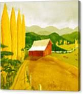Methow Gold Canvas Print