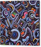 Metrimorphic Lll Canvas Print
