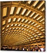 Metro Station Canvas Print