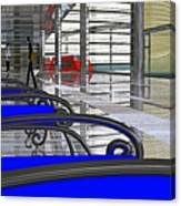 Metro West Station Canvas Print