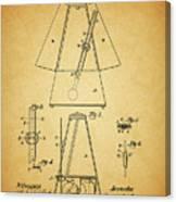 Metronome Patent Canvas Print