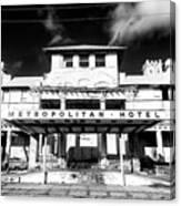 Metropolitan Hotel Canvas Print