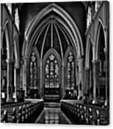 Metropolitan United Church  Interior Canvas Print