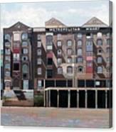 Metropolitan Wharf Canvas Print