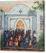 Mexican Church Canvas Print