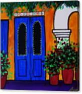 Mexican Door Canvas Print