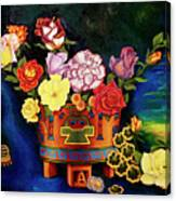 Mexican Flowers Canvas Print
