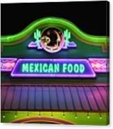Mexican Food Canvas Print