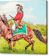 Mexican Horse Soldiers Canvas Print