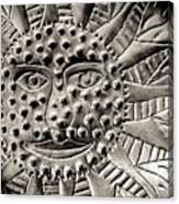 Mexican Mirror Detail Canvas Print