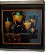 Mexican Pottery Canvas Print