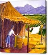 Mexican Washing Machine Canvas Print
