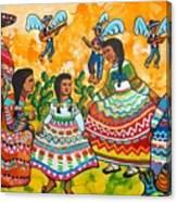 Mexican Women Canvas Print