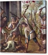 Mexico: Christian Martyrs Canvas Print