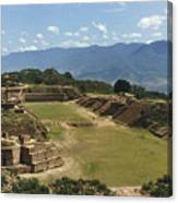 Mexico: Monte Alban Canvas Print