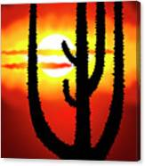 Mexico Sunset Canvas Print