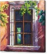 Mexico Window Canvas Print