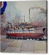 Mfv Kalees Canvas Print