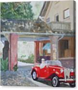 Mg At Marston House Canvas Print