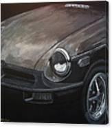 Mgb Rubber Bumper Front Canvas Print