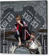 Mgk Drums Canvas Print