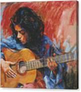 Mi Gitana Canvas Print