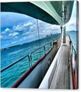 Miami Reflection Canvas Print