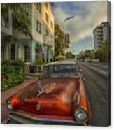 Miami Ride Canvas Print