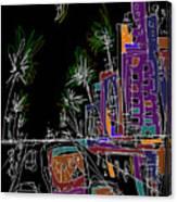 Miami Canvas Print