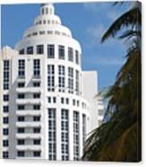Miami S Capitol Building Canvas Print