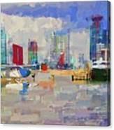 Miami Seaplane Canvas Print