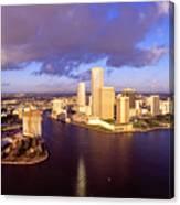 Miami Skyline 3 Canvas Print