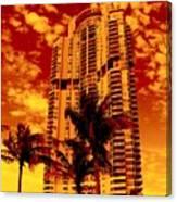 Miami South Pointe IIi Canvas Print