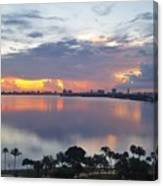 Miami Sunrise Part 1 Canvas Print